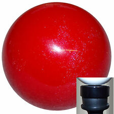 Candy Red Metallic shift knob with black adapter kit fits new Dodge Dart