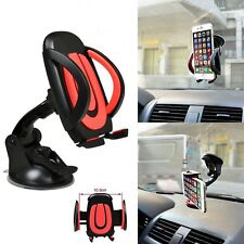 Red 360° Car Windscreen Dashboard Mount Holder For HTC 10 One A9 Plus U Play U11