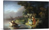 ARTCANVAS The Abduction of Europa 1632 Canvas Art Print by Rembrandt van Rijn