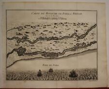 BENIN KINGDOM OF WHYDAH 1746 BELLIN ANTIQUE ORIGINAL COPPER ENGRAVED MAP