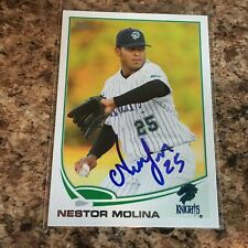 Nestor Molina Signed 2013 Topps Pro Debut Rc Auto Chicago White Sox