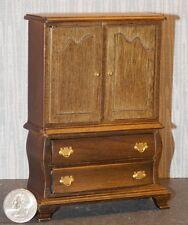 Dollhouse Miniature Armoire Walnut Wardrobe 1:12 inch scale E56 Dollys Gallery