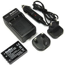 MaximalPower Replacement Battery & Charger Combo for Kodak Klic-5001 1600mAh
