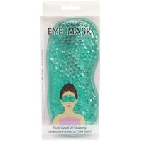 Cooling Hot Cold Gel Bead Eye Mask Pain Stress Relief Muscle Relaxing Sleep Aqua