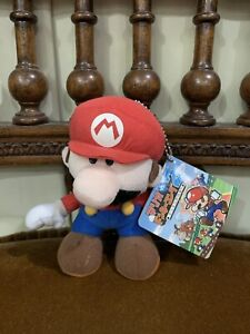 "RARE Mario vs Donkey Kong 2 March of The Minis Keychain 5"" Plush Nintendo Super"