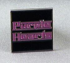 Metal Enamel Pin Badge Brooch The Purple Hearts Purple Harts Rock Band