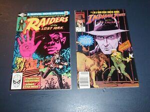 Raiders of the Lost Ark #1 (1981) Marvel Movie & #1 Indiana Jones Last Crusade
