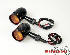Universal Led Turn Signals Indicators Blinkers Amber Light Dual Sport Supermoto(Fits: King Kong)