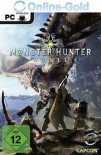 Monster Hunter: World Key - Standard Edition Steam PC Código digital Acción ES