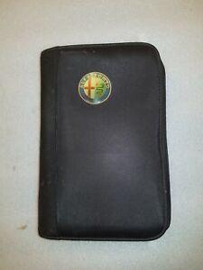 ALFA ROMEO 156 JTS 2001-2006 OWNERS MANUAL BOOK SET