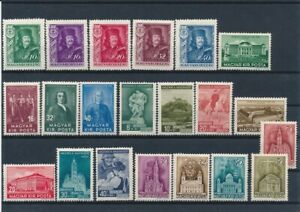 D143098 Hungary Nice selection of MH stamps