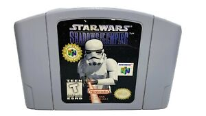 Star Wars: Shadow of the Empire — Nintendo 64 N64 Original Authentic Game
