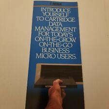 vintage IBM bernoulli box brochure.