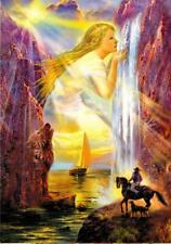 Fantasy girl new postcard artist N Strelkina