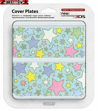 #64 Stars Pattern Cover Plate New Nintendo 3DS Official Item Japan