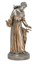 St. Francis of Assisi Statue Sculpture Figurine - RELIGIOUS DECOR