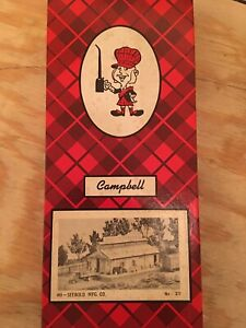 HO Campbell Scale Models 377 Seebold Manufacturing Company Unassembled Kit