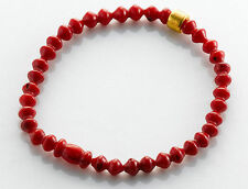 Armbänder mit Edelsteinen in gefädeltem Stil Korallen für Damen