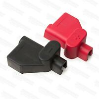 Offset Battery terminal covers 1 red and 1 black from Powerspark Ignition 1 Pair