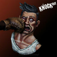 1/12 Knockout Boxer Resin Bust Model Kits Unpainted GK Unassembled