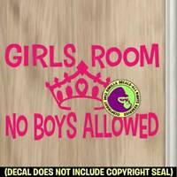 Boys Bedroom Door Sign Room Spider Door 138 No Girls Allowed Except Mum