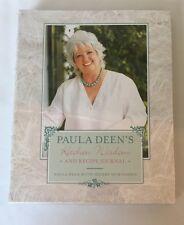 Paula Deen's Kitchen Wisdom and Recipe Journal by Paula Deen Hardcover Cookbook
