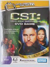 CSI Crime Scene Investigation DVD Game Screen Show Adult