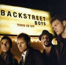 BACKSTREET BOYS THIS IS US SEALED CD NEW