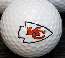 1 Dozen (K.C Chiefs NFL Logo) Titleist Pro V1 Mint Collectors Golf Balls