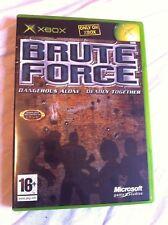 Fuerza Bruta - 2003 escuadrón tercera persona tirador basada en (Microsoft Xbox, Pal)