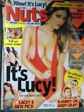 Nuts magazine February 2011 Lucy Pinder Its Lucy Includes 2 page poster RARE
