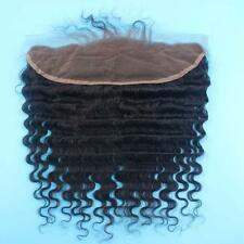 BRAZILIAN LACE FRONTALS 13X4 Ear To Ear DEEPWAVE 14Inch 8A SAME DAY FASTEST SHIP