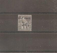 TIMBRE CONGO FRANCE FRANKREICH KOLONIE 1891 N°1 NEUF* MH
