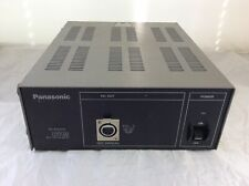 PANASONIC TV VIDEO CAMERA MAIN POWER SUPPLY AU-B110 12V-7A DC OUT 4 PIN XLR