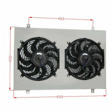 Radiator Shroud Fan For Ford F100 F150 F250 F350 Bronco V8 1983-97 84