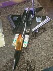 transformers Skywarp g1 - Near Complete! With Box, and manuals.