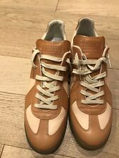 Margiela Replica Beige and Tan Barneys Exclusive Size 47/14 US $650