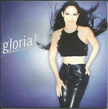 GLORIA ESTEFAN Heaven's What EDIT& HITMIX SHORT Version  SLEEVE CD single SEALED