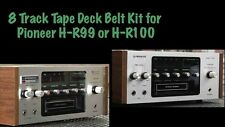 Belt Kit for Pioneer H-R99 or H-R100 8 Track Tape Deck Player Recorder