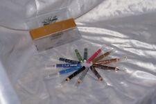 Set mini matite per occhi varie colorazioni make up waterproof eyeliner