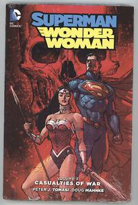 Superman Wonder Woman Casualties Of War Vol 3 HC DC NM Sealed 13 14 15 16 17