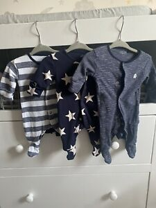next baby boy sleepsuits First Size