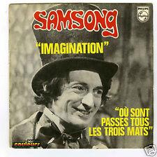 45 RPM SP BILLY NENCIOLI SAMSONG IMAGINATION