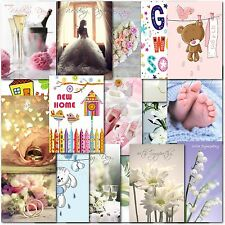 Pack of 40 Mixed Birthday, Blank & Occasion Premium Greeting Cards Male Female