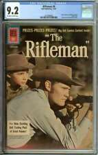 RIFLEMAN #8 CGC 9.2 OW/WH PAGES