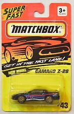 MATCHBOX 1993 CAMARO Z-28  #43