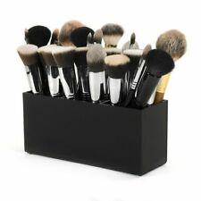 New Black Cosmetic Box Make Up Organizer Brush Holder Vanity Box Makeup Box