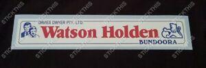Holden Dealership Dealer Decal Sticker - Watson Holden Bundoora VIC