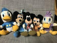 Hardees 1984 - Mickey's Christmas Carol - Complete Plush Set of 5