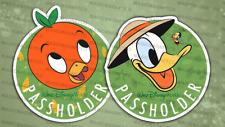 HomeMade Disney Donald Duck (with Spike The Bee) & Orange Bird 2x Ap Car Magnets